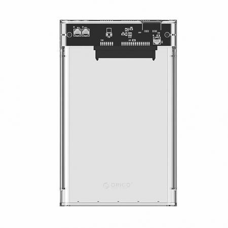 Прозрачна кутия за HDD/SSD - USB3.0 / SATA Orico 2139U3-CR