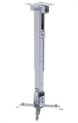 Sunne-Universal-Ceiling-Projector-Bracket-max.-20kg-extension-silver