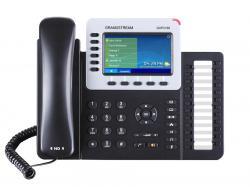 GRANDSTREAM-GXP2160-VoIP-telefon-s-6-linii-24-BLF-klavisha-cveten-TFT-ekran-HD-zvuk-Bluetooth-5-posochna-konferenciq