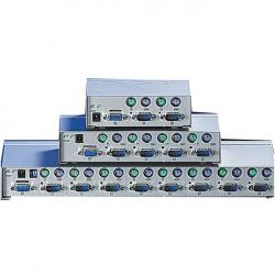 ROLINE-14.99.3274-Avtomatichen-KVM-Switch-1x-User-kym-4x-PCs-tip-PS-2-Desktop
