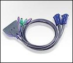 ATEN-CS62-KVM-prevklyuchvatel-2h-1-avtom.-PS2-vklyucheni-kabeli
