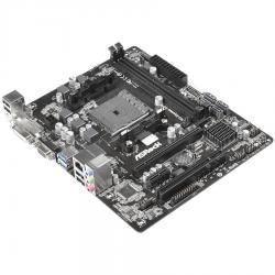 ASROCK-Main-Board-Desktop-AMD-A68H-sFM2-2xDDR3-6ch-SATA-III-GLAN-USB-3.0-DVI-mATX-Box