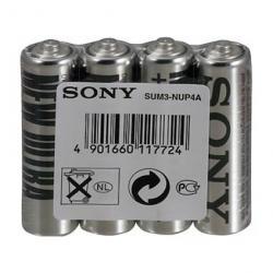 Sony-SUM3NUP4B-Zinc-R06-ZnCl-4pcs-shrink-AA