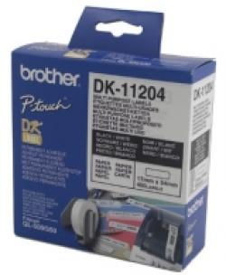 Brother-DK-11204-Multi-Purpose-Labels-17mmx54mm-400-labels-per-roll-Black-on-White