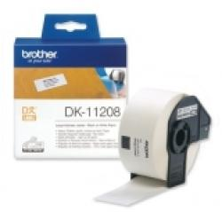 Brother-DK-11208-Large-Address-Paper-Labels-38mmx90mm-400-labels-per-roll-Black-on-White-