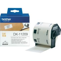 Brother-DK-11209-Small-Address-Paper-Labels-29mmx62mm-800-labels-per-roll-Black-on-White-