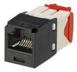 Cat-5e-UTP-Mini-Com-TX5e-Jack-Module-black