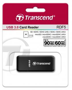 Chetec-za-flash-karta-Transcend-USB-3.0-SD-microSD-Single-Lun-Card-Reader-Black