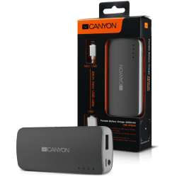 CANYON-CNE-CPB44DG-Dark-grey-color-portable-battery-charger-with-4400mAh-micro-USB-input-5V-1A-and-USB-output-5V-1A-max.-