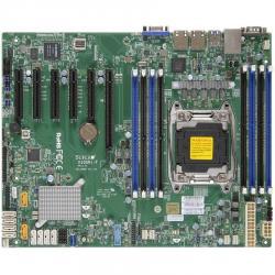 Supermicro-MBD-X10SRI-F-O-Single-SKT-Intel-C612-chipset-8xDIMMs-DDR4-LR-RDIMM2400-10xSATA3-6G-2xSATA-DOM-2x1GbE-i350-IPMI2.0+IP-KVM-4xPCIe3.0-2xPCIe2.0-slots-ATX-12x9.6-Retail