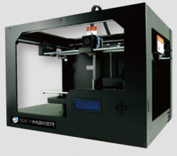 Sky-Tech-3D-printer-SKYMAKER-A1-Gold-Single-Extruder-Single-color