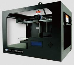 Sky-Tech-3D-printer-SKYMAKER-A1-Gold-Single-Extruder-Single-color
