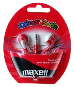 Slushalki-MAXELL-Colour-BUDZ-In-Ear-Cherven