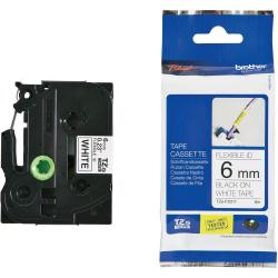 Brother-TZe-FX211-Tape-Black-on-White-Flexible-6mm-8m