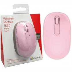 Mouse-Microsoft-Wireless-Mobile-1850-Pink