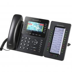 GRANDSTREAM-GXP2170-VoIP-telefon-s-12-linii-48-BLF-klavisha-cveten-TFT-ekran-HD-zvuk-Bluetooth-5-posochna-konferenciq