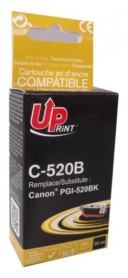 Patron-CANON-PGI-520-BLACK-iP3600-MP540-620-980-MX860-20ml-350k-Uprint