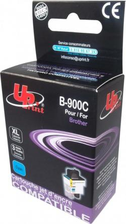 Patron-BROTHER-LC900-13-5ml-CYAN-MFC210-5840-DCP110-310-480k-Uprint