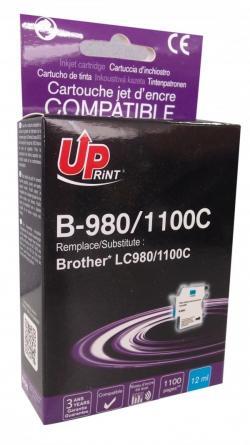 Patron-BROTHER-LC980-1100-CYAN-DCP145C-MFC-250-649-12ml-800k.-Uprint