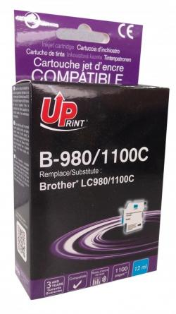 Patron-BROTHER-LC980-1100-CYAN-DCP145C-MFC-250-649-12ml-800k.-Uprint