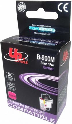 Patron-BROTHER-LC900-13-5ml-MAGENTA-MFC210-5840-DCP110-310-480k-Uprint