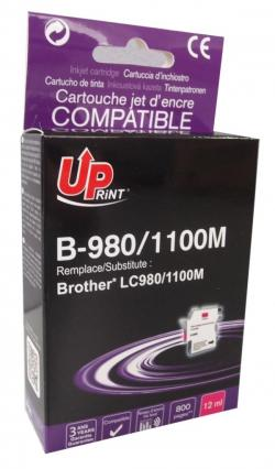 Patron-BROTHER-LC980-1100-MAGENTA-12ml-800k-Uprint