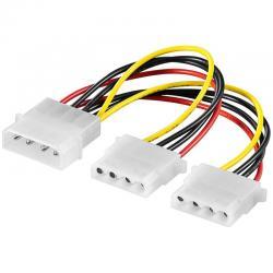 Power-cable-Molex-2x-Molex-15cm