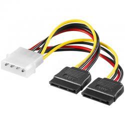 Power-cable-Molex-2xSATA-15cm