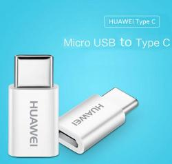Huawei-5V2A-Micro-USB-To-Type-C-Adapter