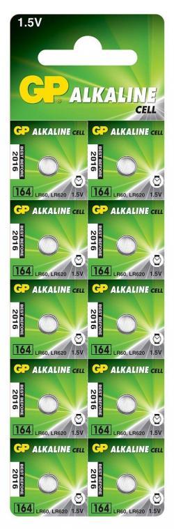 Butonna-alkalna-bateriq-GP164-LR-621-10br.-pack-cena-za-1-br.-1.55V-AG1