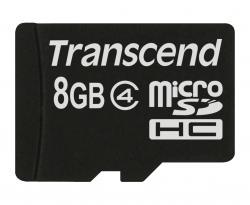 Pamet-Transcend-8GB-microSDHC-Class-4-Standard-NoBox-Adapter-