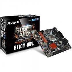 ASROCK-Main-Board-Desktop-H110-S1151-2xDDR4-1xPCI-E-3.0-x16-micro-ATX-retail