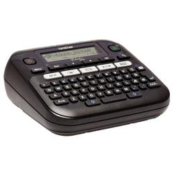 P-Touch-Labelling-System-BROTHER-PTD210VP-Desktop-QWERTY-keyboard