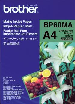 Paper-BROTHER-25-sheets-Matte-Paper-A4