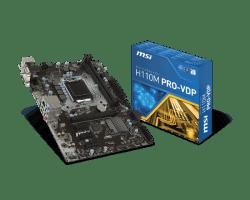 MSI-H110M-PRO-VD-LGA1151