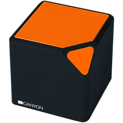 CANYON-Portable-Bluetooth-V4.2+EDR-stereo-speaker-with-3.5mm-Aux-micro-USB-port-bulit-in-300mA-battery-Black-and-Orange