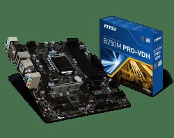 MSI-B250M-PRO-VDH-LGA1151