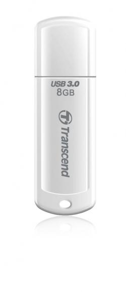 Flash-pamet-Transcend-8GB-JetFlash-730-USB-3.0-read-up-to-55MBs-White