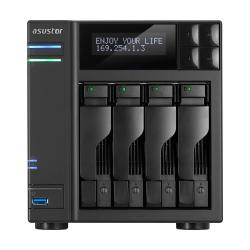Asustor-AS7004T-I5-4-Bay-NAS-Intel-Core-i5-3.0-GHz-Quad-Core-8GB-DDR3-GbE-x-2
