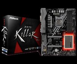 ASROCK-Main-Board-Desktop-Z370-S1151-4xDDR4-3xPCIe-x16-4xPCI-Ex1-ATX-retail