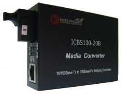 Media-konvertor-10-100M-Singyl-mod-edno-vlakno-TX-1550-RX-1310-20-km-ICB