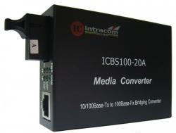 Media-konvertor-10-100M-Singyl-mod-edno-vlakno-TX-1310-RX-1550-20-km-ICB