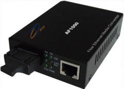Media-konvertor-Singyl-mod-Dve-vlakna-1000M-1310-nm-20-km-Atop
