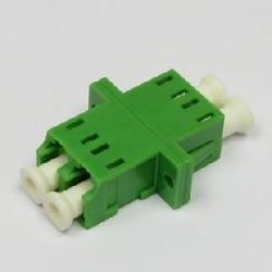 LC-APC-optichen-adapter-dupleks-singyl-mod-zelen