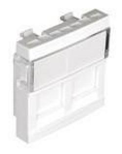 Licev-panel-za-2-x-RJ45-zhaka-45h45-mm-Izbor-na-cvqt-Bql
