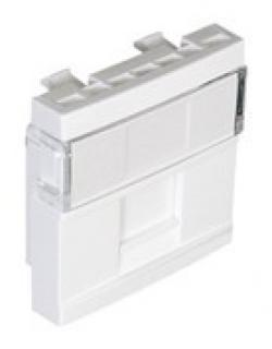 Licev-panel-za-1-x-RJ45-zhak-45h45-mm-Izbor-na-cvqt-Bql