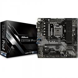 ASROCK-Main-Board-Desktop-Z370-S1151-4xDDR4-2xPCIe-x16-2xPCI-Ex1-mATX-retail