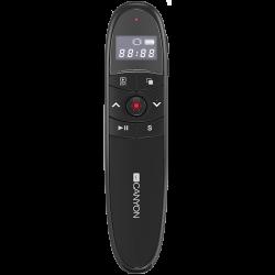 CANYON-2.4Ghz-laser-wireless-presenter-red-laser-indicator-LCD-display-timer-Black