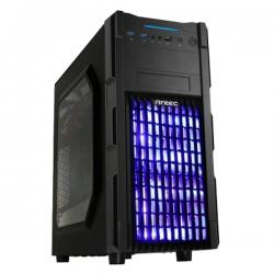 Antec-ATX-Gaming-GX200-Blue-w-Window-Black