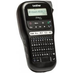 P-Touch-BROTHER-Labelling-system-PTH110-Kiriliziran-Handheld-PC-layout-keyboard